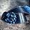 Thumbnail: Navy Blue Snake Skin Spur Straps