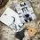 Thumbnail: Cow Hide Key Ring gift set