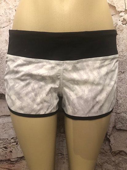 Lululemon Grey & Black Shorts