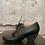 Thumbnail: Miz Mooz Black Leather Tie Ups