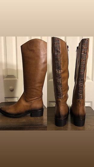 Unit Y Indiversity Caramel Leather Boots NEW