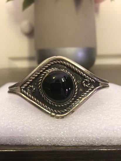 Vintage Black Cuff Bracelet