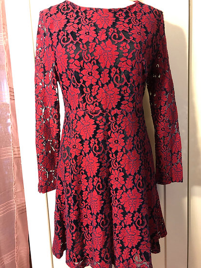 Pink Martini Red Lace Dress NEW