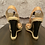 Thumbnail: Michael Kors Wedge Almond Leather Sandals