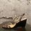 Thumbnail: Enzo Angiolini Pewter & Copper Wedge Sandals NEW