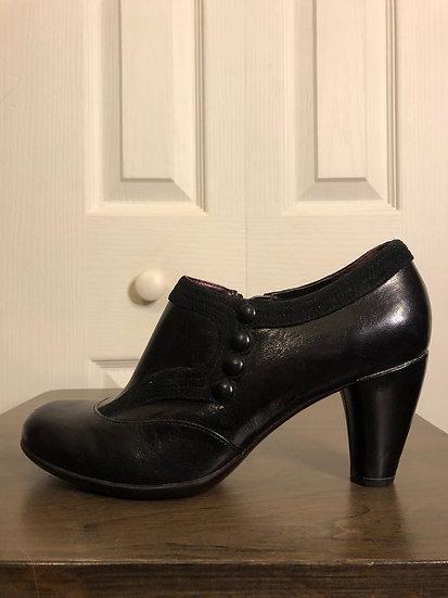 Indigo by Clarkes Black Shoe Boot