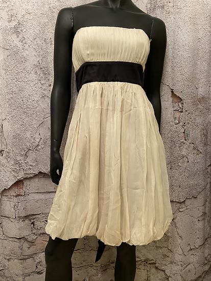 Forever 21 Ivory Silk Dress