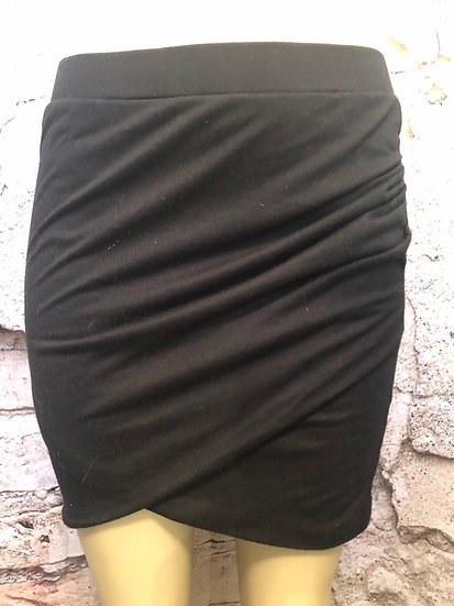 Kismet Black  Stretch Skirt