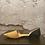 Thumbnail: Michael Kors Caramel/Black Leather Flats