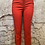 Thumbnail: Hilary Radley Red Crop Stretch Pants