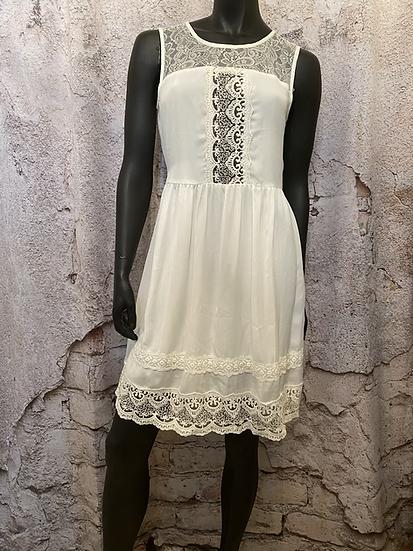 Angeleye London White Lace Dress NEW