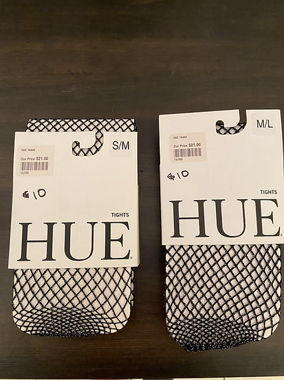 HUE Sparkle Fish Net Tights NEW