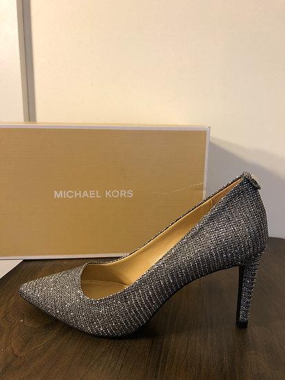 Michael Kors Silver Sparkle NEW