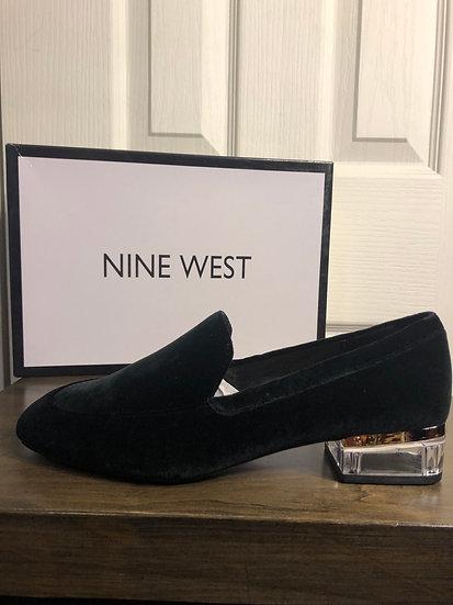 Nine West Velveteen Shoe NEW