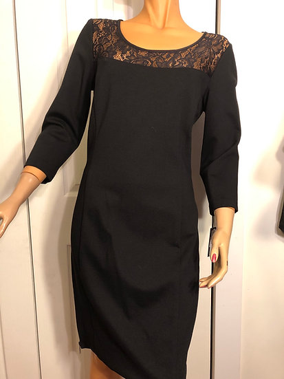 Cartise Black Zippered Dress NEW