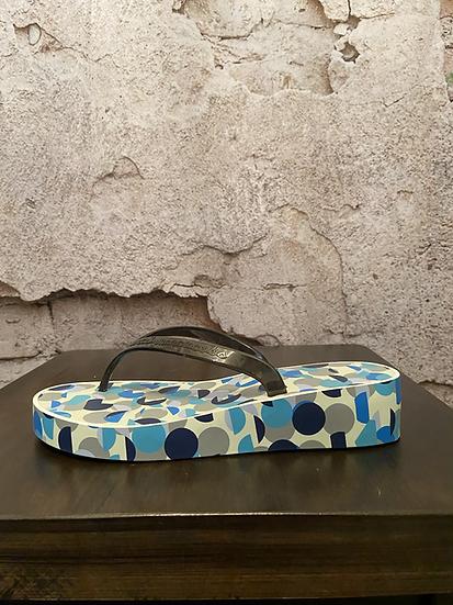 Marc Jacobs Designer Flip Flops with Carry Bag NEW