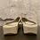 Thumbnail: Fitflop Strobe Luxe Toe Gold FlipFlops