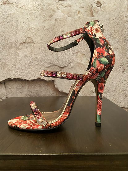 Chinese Laundry Floral Blingy Shoes NEW
