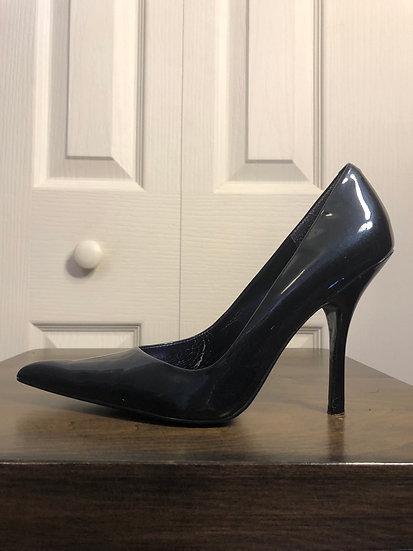 Vianni Navy Patent Shoe