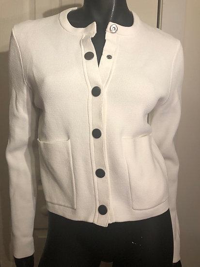 Short White Sweater