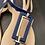 Thumbnail: Loucos & Santos Sapphire Blue Sandals NEW