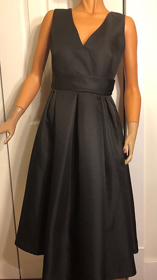 Silvian Heach Black Flare Dress NEW