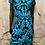 Thumbnail: Bailey Black Lace & Teal Dress