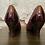Thumbnail: Sofft Burgundy Patent & Suede Pumps