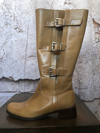 Paco Valiente Mole Leather Boots NEW