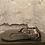 Thumbnail: Jules & James Black & Metalic Rose Gold Sandals