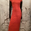 Thumbnail: Cleo Red Lace  Maxi Dress