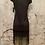 Thumbnail: Tribal femme Black Flapper Style Dress NEW