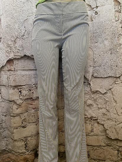 Nine West Navy Stripe Pants.