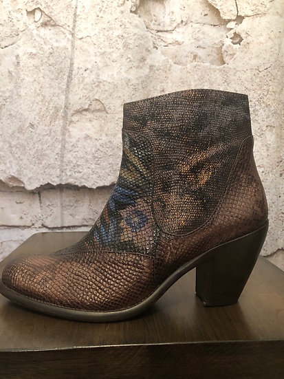 Portugal Leather Boots NEW