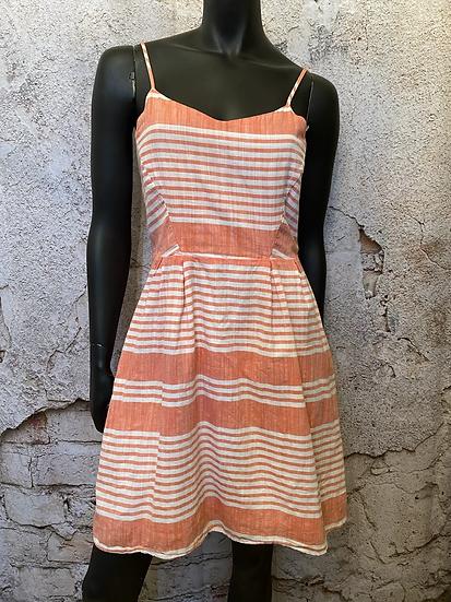 Old Navy Peach Linen Dress