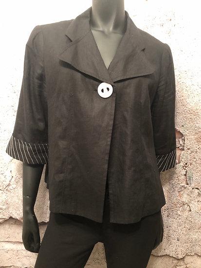VEX Linen Look Boxey Style Blazer
