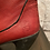 Thumbnail: Fly London Cherry Red Leather Boots