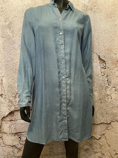 RW&CO Soft Chambray Denim Dress
