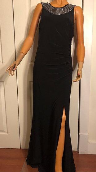 Cartise Floor Length Black Gown NEW