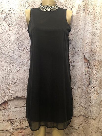 Tiana B Pearl Collar Dress NEW
