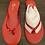 Thumbnail: Yosi Samra Chili Red Flip Flops NEW