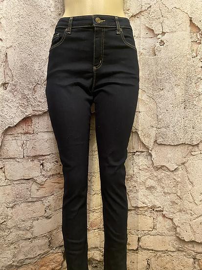 Michael Kors Dark Rinse Spandex Denim Jeans NEW