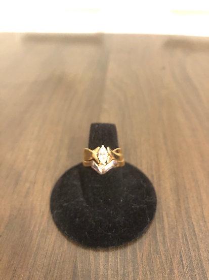 Gold/Silver Marquee Diamond Wedding Set