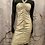 Thumbnail: Le Chateau Gold Rouched Dress