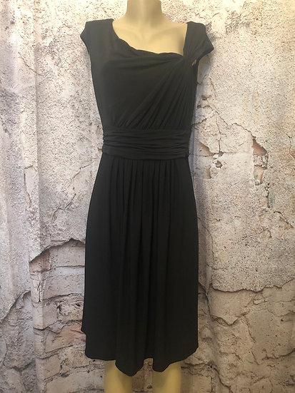 Jones New York Black Stretch Flowy Dress