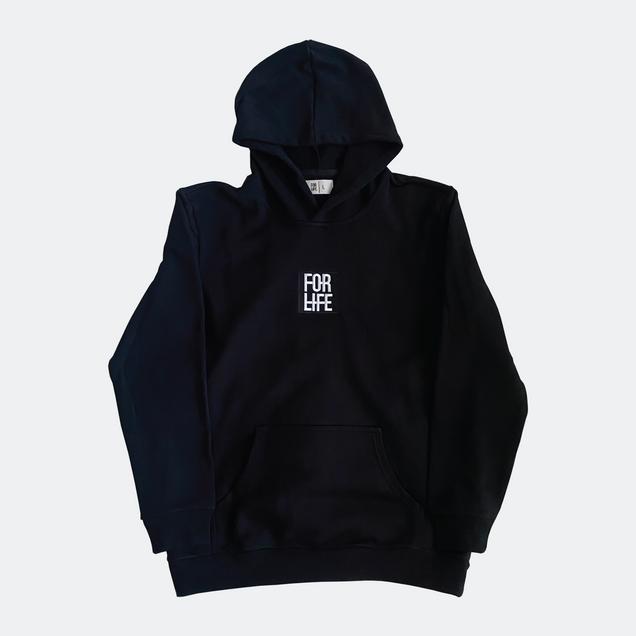 Shop Our Black Classic Logo Hoodie