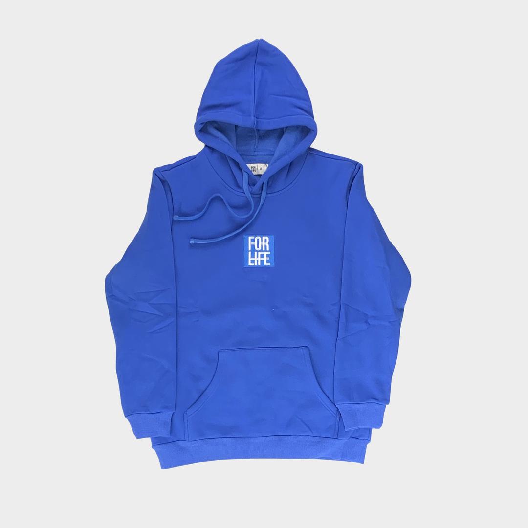 Blue Classic Logo Hoodie
