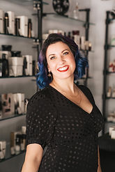 Amber Woodall, owner and lead stylist.