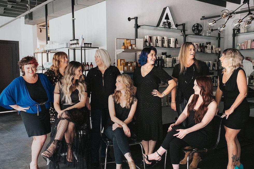 Alkali Hair Studio team photo