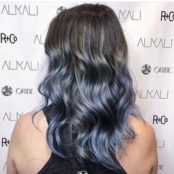 Blue steel hair color